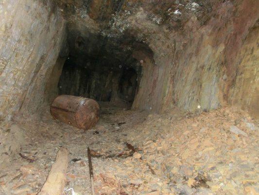Innenansicht der Höhle in Marsberg (Foto: Dieter Robrecht)