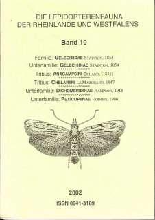 Band 10 Lepidopterenfauna des Rheinlandes und Westfalens