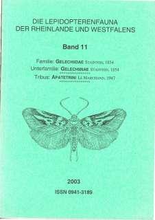 Scans Deckblätter Faunenbände Lepidopterenfaunea des Rheinlandes und Westfalens