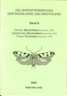 BAND 8 Faunenbände Lepidopterenfaunea des Rheinlandes und Westfalens