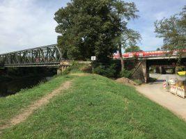 Brückenpark Mülheim an der Ruhr, 17. September 2018 (Foto: Armin Dahl)
